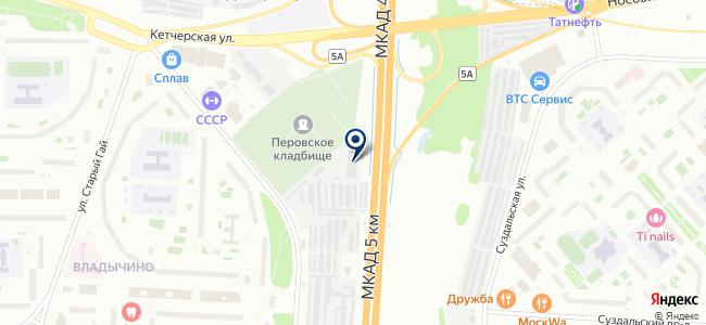 Москабельэнергоремонт, ОАО на карте