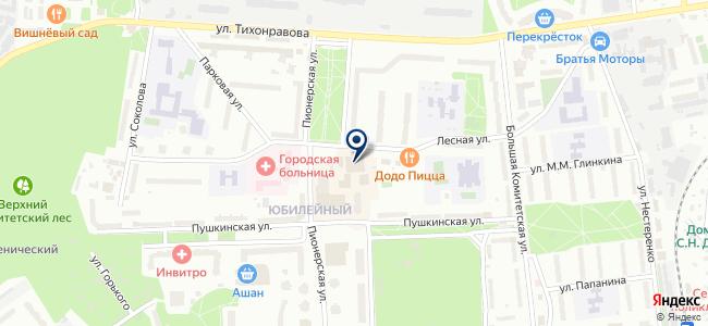 Зенит-Электро, ЗАО на карте