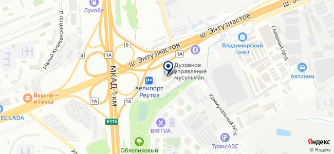 Mazdamasters на карте