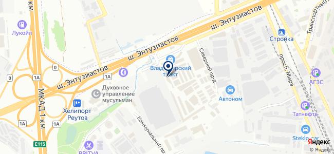 Магазин инструментов и садовой техники на карте