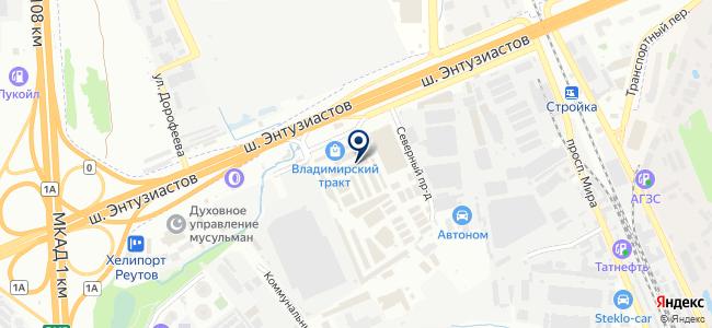 Облюка на карте