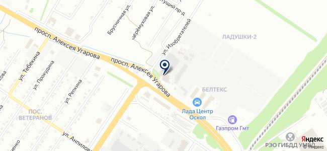 Макском-В на карте