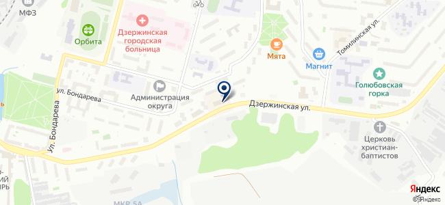 Кавэ на карте