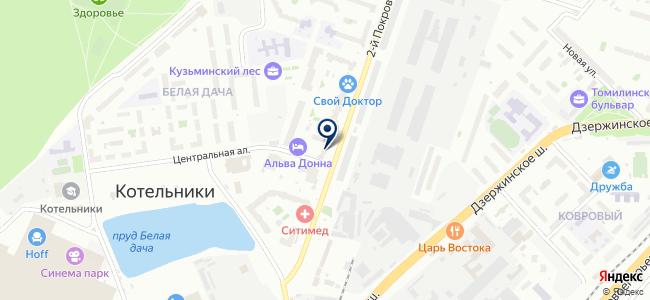 Вольтер, ООО на карте