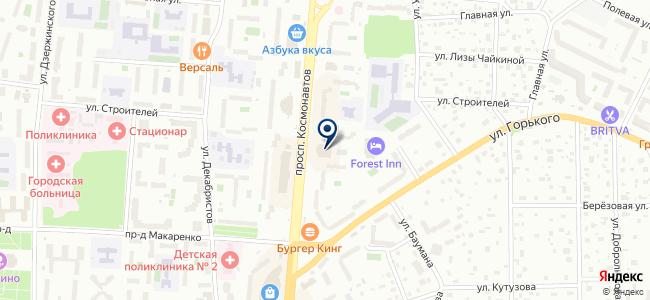КВИК Сервис на карте
