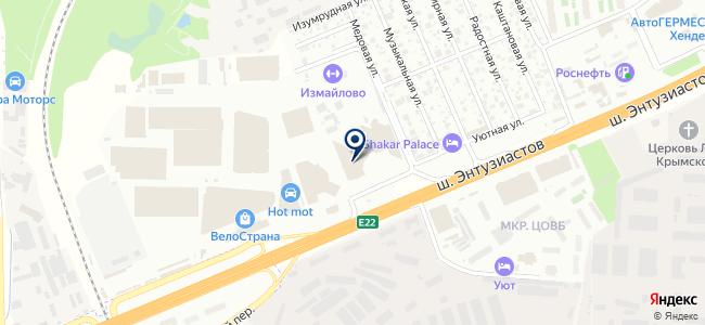 АктиТрейд-М, ООО на карте
