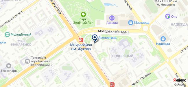 КИП-Оскол, ООО на карте