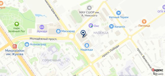 Инструмент Плюс на карте