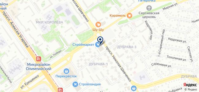 Электролюкс на карте