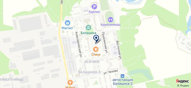 AllB на карте