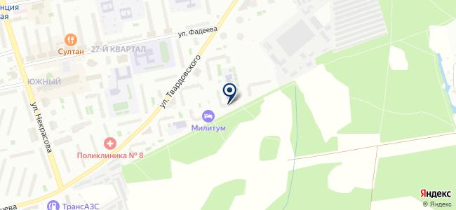 Тулон на карте