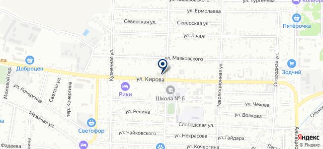 Молоток, магазин строительно-отделочных материалов на карте