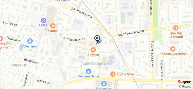 Универсал-монтаж на карте