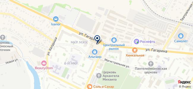 Магазин оптических приборов на карте