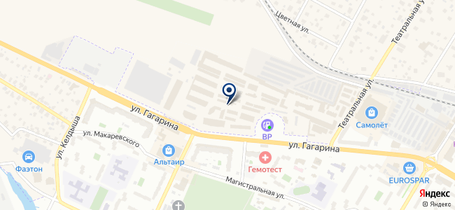 Магазин светотехники и электроустановочной продукции на карте