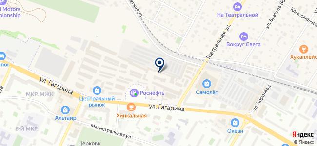 Магазин инструментов и мебельной фурнитуры на карте