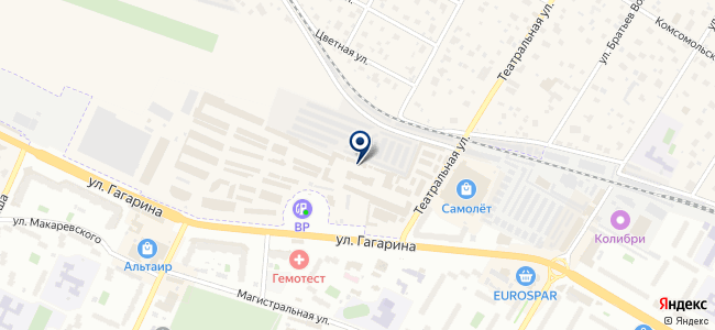 Магазин вентиляционного оборудования и электротехники на карте