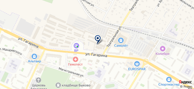 Магазин светотехники и электрики на карте