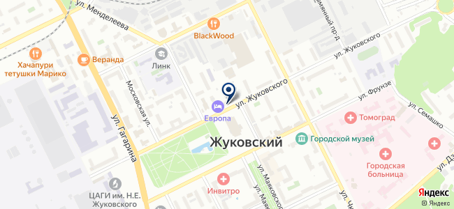Газмашпроект, ЗАО на карте