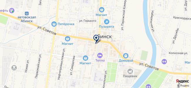 Ростелеком, ОАО на карте