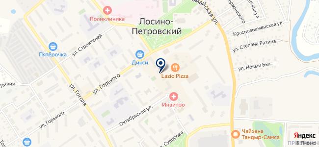 Антенка на карте