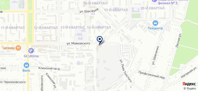 Новомосковский авторемонтный завод, ОАО на карте