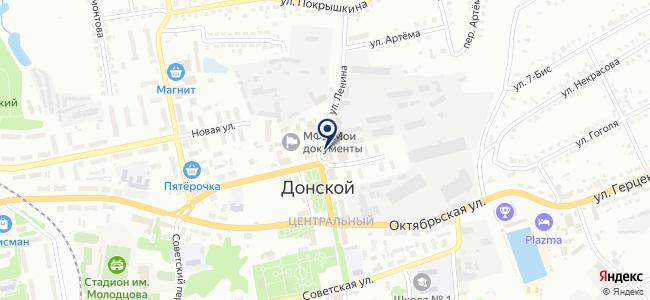 Строймагнат на карте