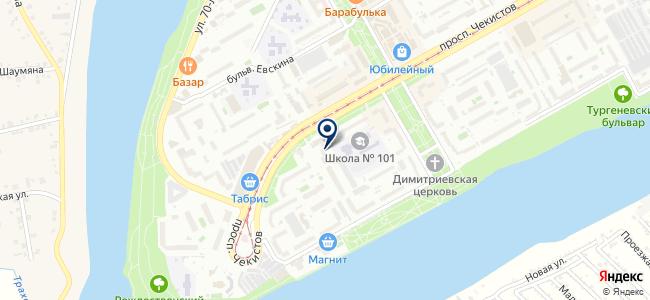 Сфера 2010 на карте