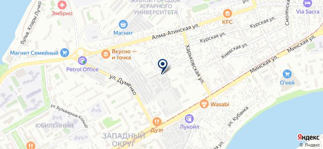 Гектор, ООО на карте