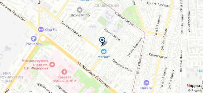Зубр, ООО на карте