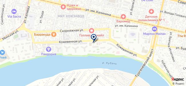 АрхСтрой Юг, ООО на карте