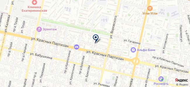Гамма-Ю на карте
