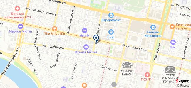 Электробензоторг на карте