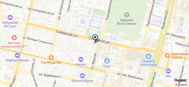 Интерсвет Краснодар на карте