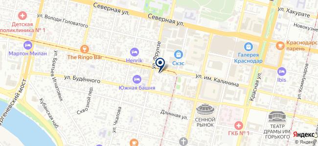 Абажур на карте