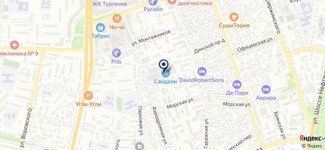 ТКС-Электро на карте