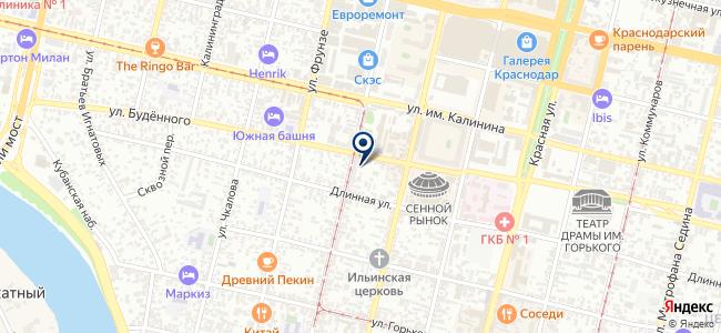 Инструмент-центр на карте
