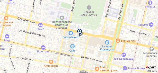 Ростехнострой, ООО на карте