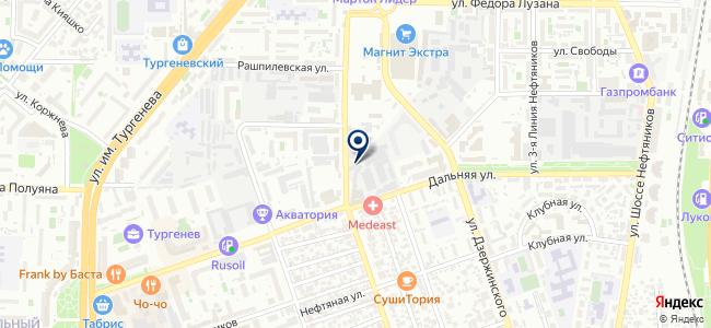 Югтехснаб, ООО на карте