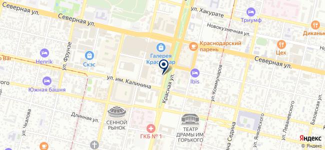 МИЛЛАБ Система на карте