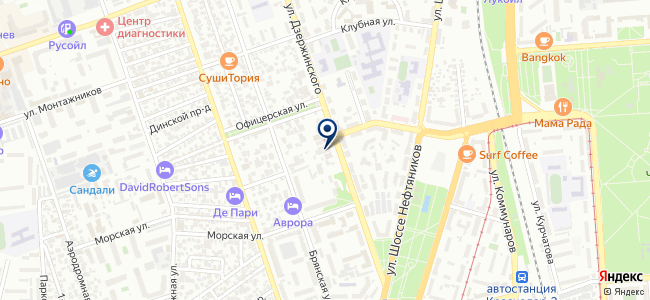 Северный Кристалл, ООО на карте
