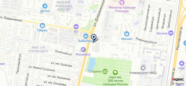 ЭкоЛайн-Краснодар на карте