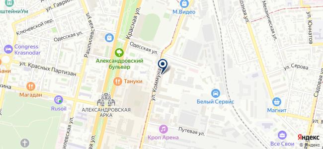 Магазин мебели и светотехники на карте