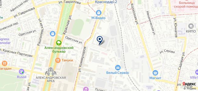 Юг Электро на карте