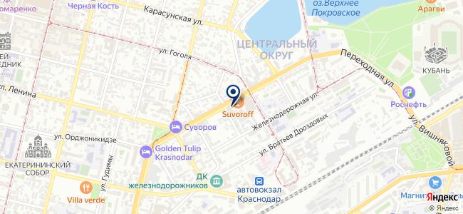 Гельветика-Краснодар, ООО на карте
