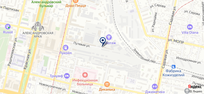 Краснодарский ремонтно-механический завод, ЗАО на карте