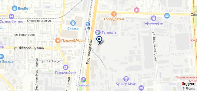 Рефиниш, ООО на карте