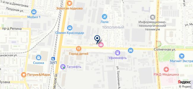 Электрохолдинг, ООО на карте