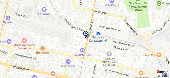 Макси-Крайт на карте
