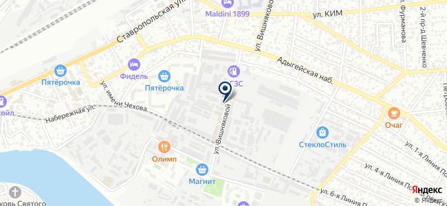 ЦМТО, ЗАО на карте